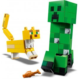 Velká figurka: Creeper™ a Ocelot