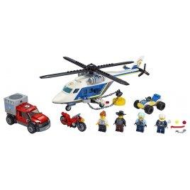 Pronásledování s policejní helikoptérou