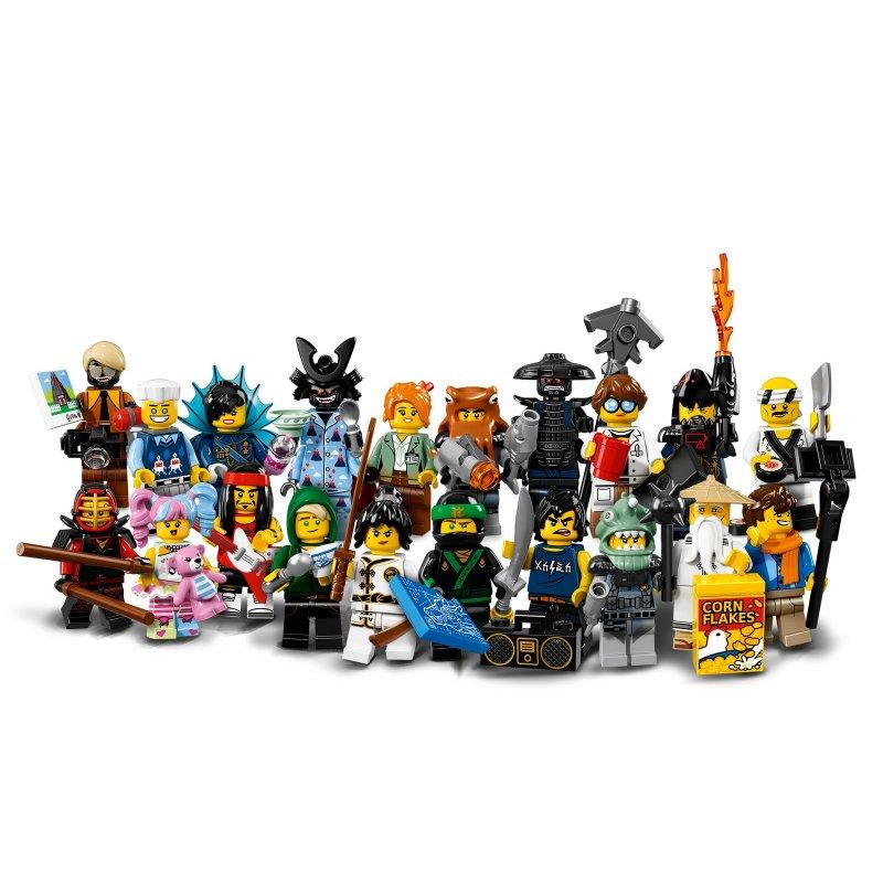 Minifigurky THE LEGO® NINJAGO® MOVIE™ - kompletní série (20 minifigurek)