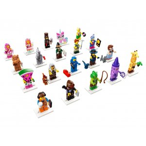 Minifigurky The LEGO Movie 2 - kompletní série (20 minifigurek)