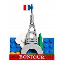Magnetický model – Eiffelova věž
