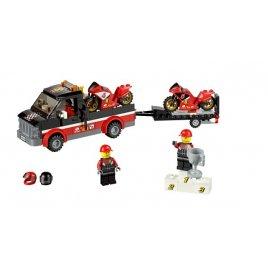 Přepravní kamión na závodní motorky