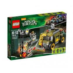Zničení želví dodávky