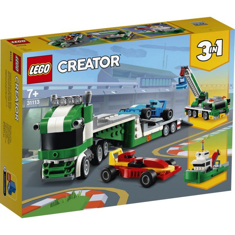 Kamion pro přepravu závodních aut