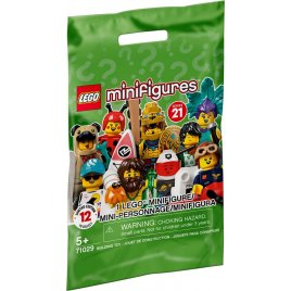 Minifigurky 21. série - kompletní série (12 minifigurek)