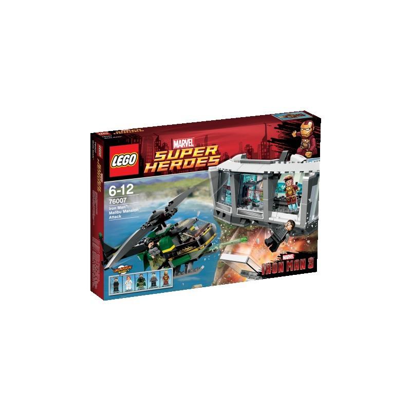 Iron ManTM: Útok v Malibu