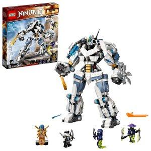 Zane a bitva s titánskými roboty