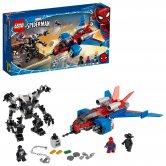 Spiderjet vs. Venomův robot