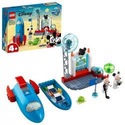 Myšák Mickey a Myška Minnie jako kosmonauti