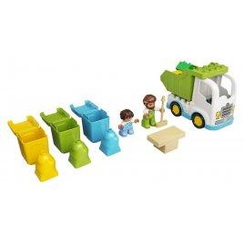 Popelářský vůz a recyklování
