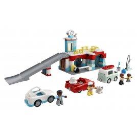 Garáž a myčka aut