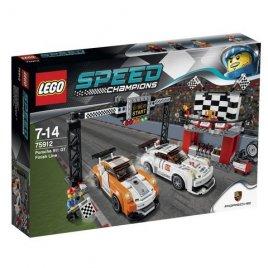 Porsche 911 GT v cílové rovince