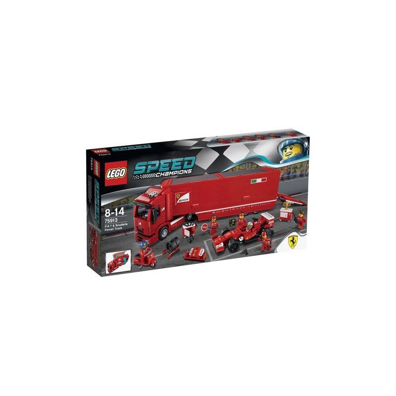 Kamión pro vůz F14 T týmu Scuderia Ferrari