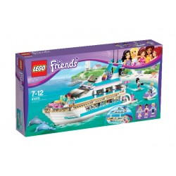 Výletní loď za delfíny