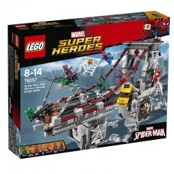 Spiderman: Úžasný souboj pavoučích válečníků na mostě