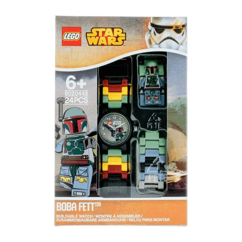 LEGO® Star Wars™ hodinky s Boba Fettem a minifigurkou
