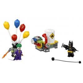 Jokerův útěk v balónu