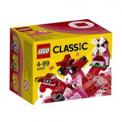 Červený kreativní box