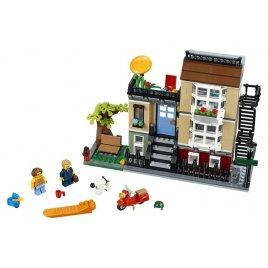 Městský dům se zahrádkou