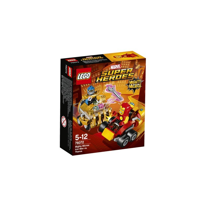 Mighty Micros: Iron Man vs. Thanos