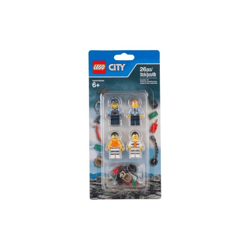 LEGO® City Sada doplňků k vězení na ostrově