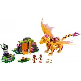 Lávová jeskyně ohnivého draka