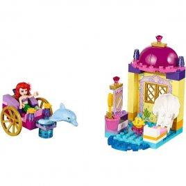 Ariel a kočár tažený delfínem