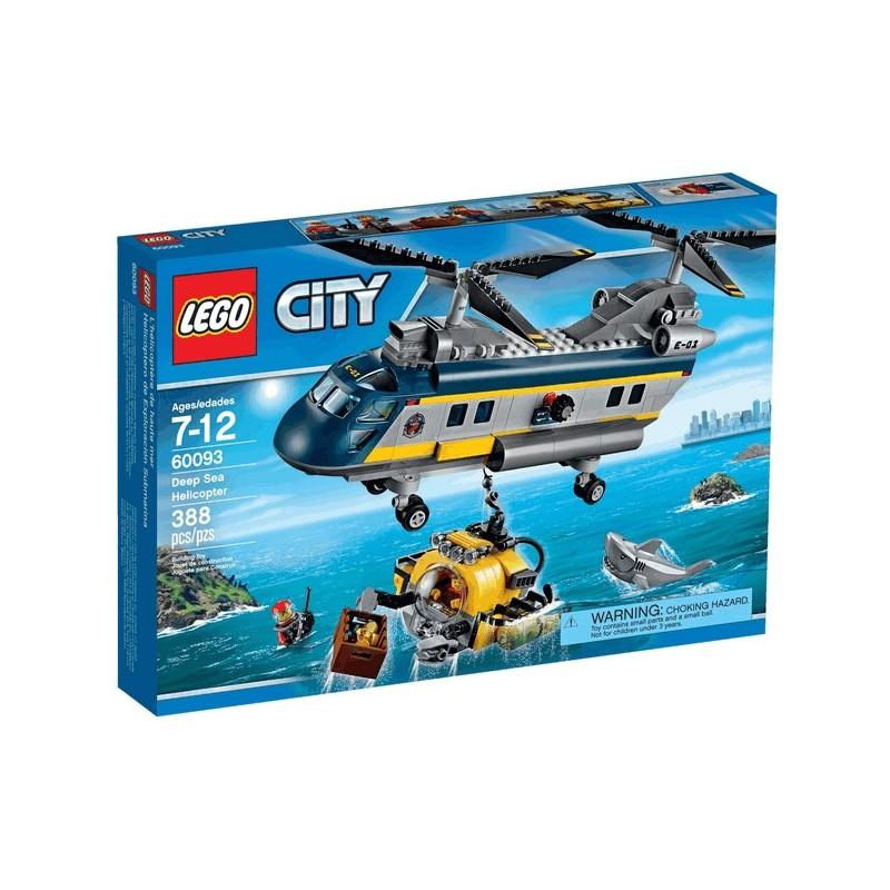 Vrtulník pro hlubinný mořský výzkum