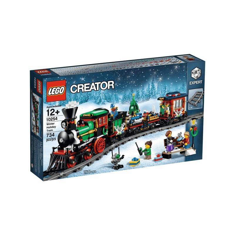 Zimní sváteční vlak