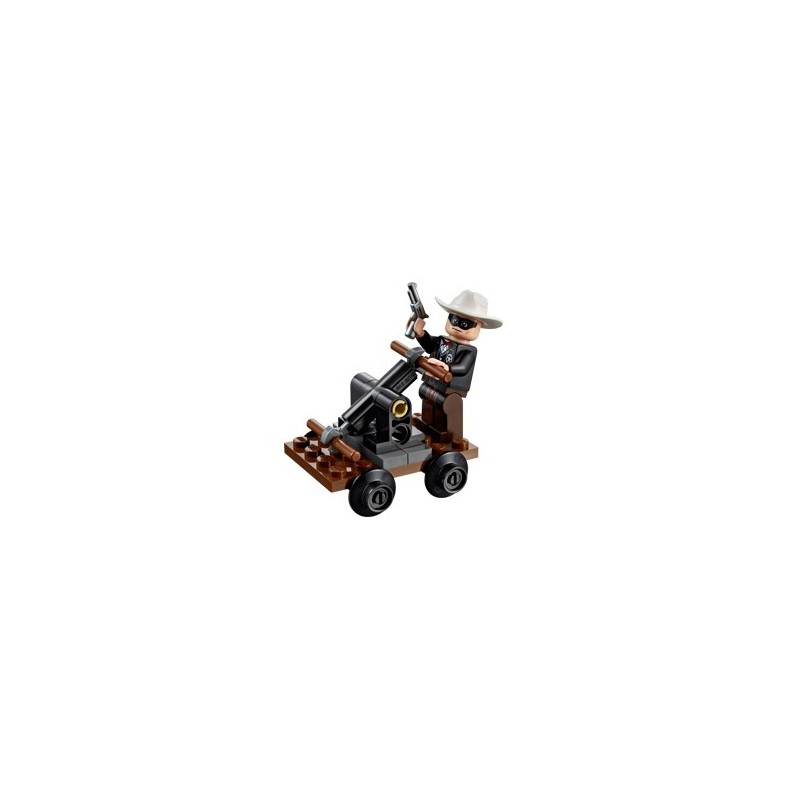 Lone Rangers Pump Car (polybag)