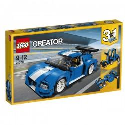 Turbo závodní auto