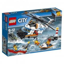 Výkonná záchranářská helikoptéra