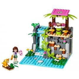 Záchrana u vodopádů v džungli