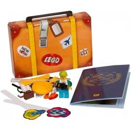 Travel Building Suitcase