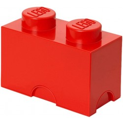 LEGO 2 stud Red Storage Brick