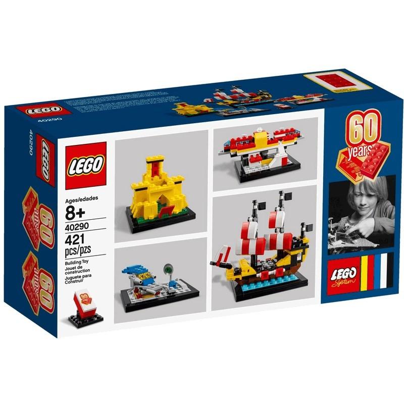 60 let kostek LEGO®