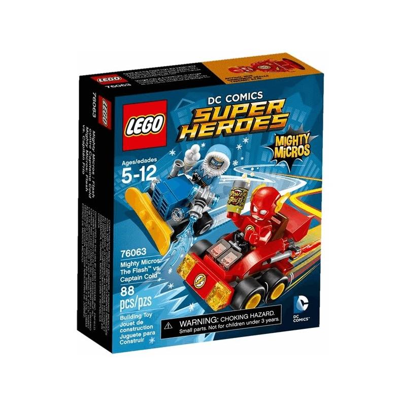 Mighty Micros: Flash vs. Kapitán Cold