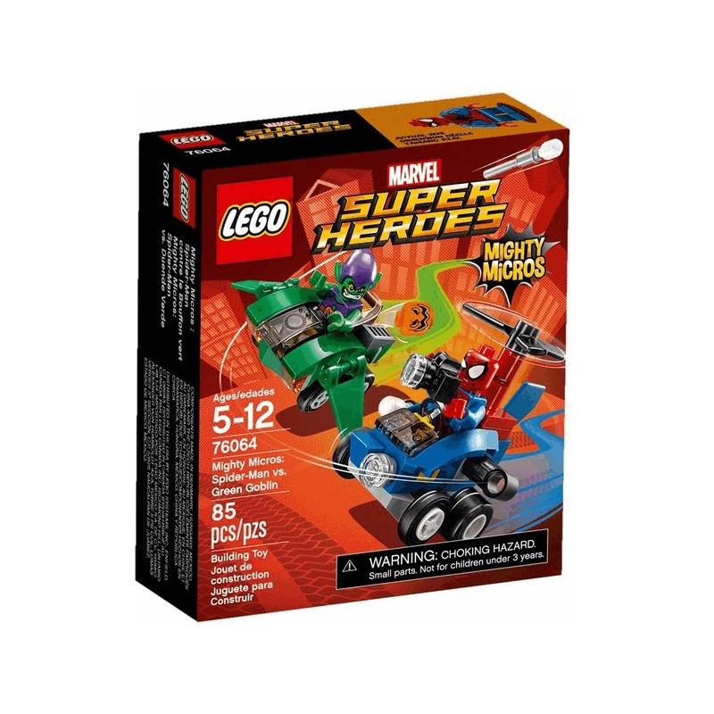 Mighty Micros: Spiderman vs. Green Goblin
