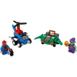 Mighty Micros: Spiderman vs. Green Goblin