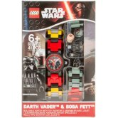 LEGO® Star Wars™ Hodinky s Boba Fettem a Darth Vaderem