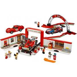 Úžasná garáž Ferrari