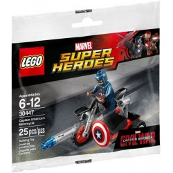 Captain America\'s Motorcycle (polybag)