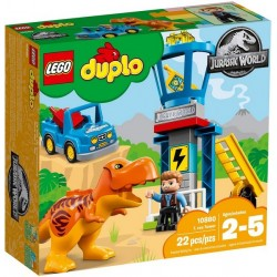 T. rex a věž