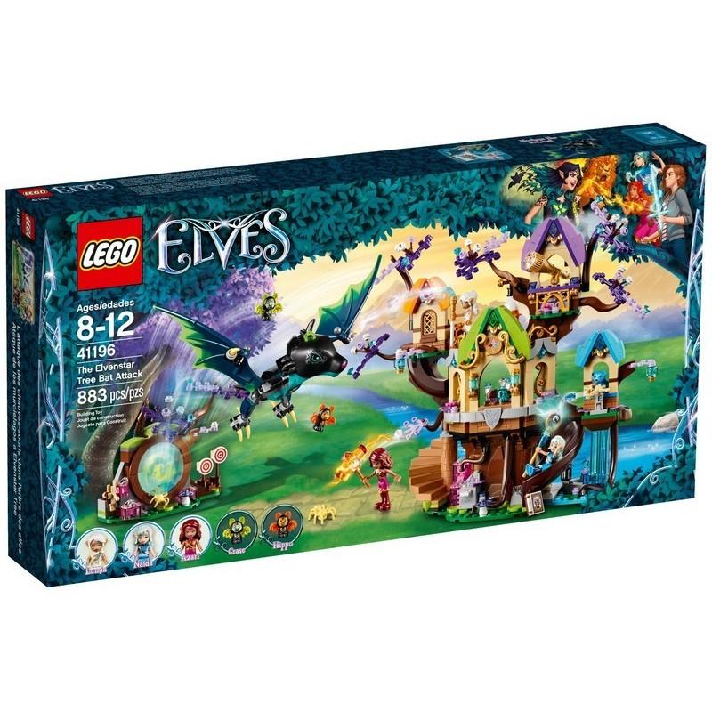 Útok stromových netopýrů na elfí hvězdu
