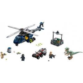 Pronásledování Bluea helikoptérou