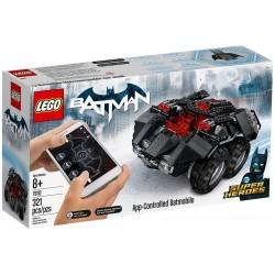 Batmobil ovládaný aplikací