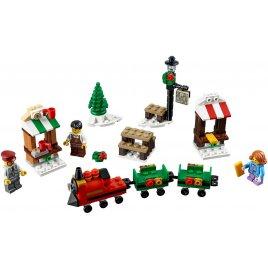Projížďka vánočním vlakem