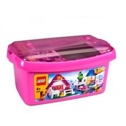 LEGO® Velká růžová krabice kostek