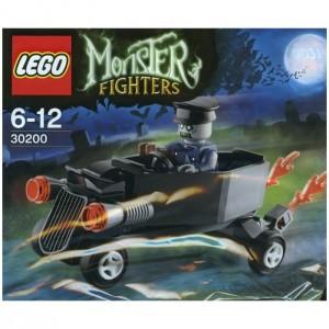 Zombie chauffeur coffin car (polybag)