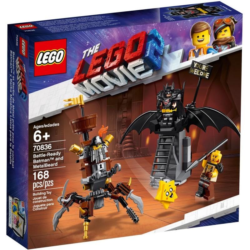 Batman™ a Kovovous připraveni k boji